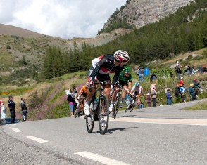 Fabian Cancellara Descends the Col D'izoard