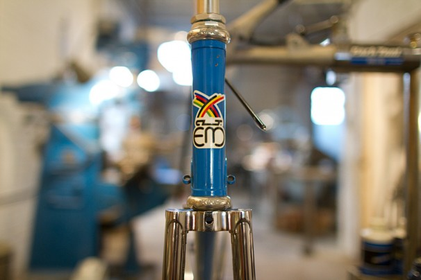 Eddy Merckx Chrome Fork