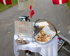 Danish Cake and Coffee Stand