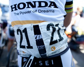 Race Numbers at the Exergy Tour