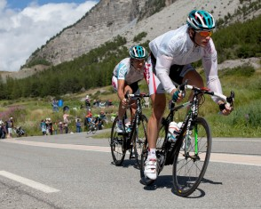 Omega Pharma Lotto Descends the Col D'izoard