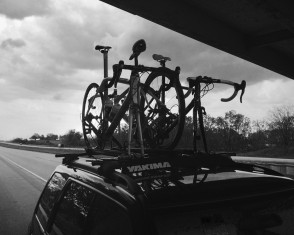Bikes (Still on Car)