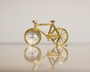 The Elgin Bicycle Clock