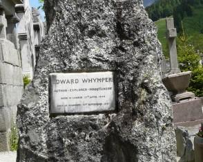 Whymper Grave in Chamonix