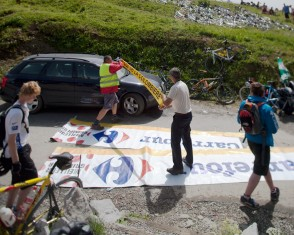 2009 Tour de France: Col de la Colombière