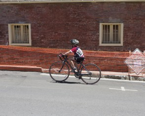 This kid is an inspiration. 10 years old and competing in his second Nevada City Bike Classic.